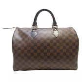 LV 棋盤格手提波士頓包 Speedy 35 N41363 【BRAND OFF】