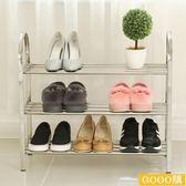 加固不銹鋼鞋架特價多層鞋櫃簡易防塵收納架子宿舍經濟型gogo購