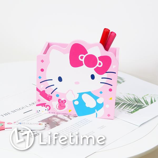 ﹝Kitty45週年筆筒﹞正版收納盒 筆筒 珠寶盒 置物盒 三麗鷗 凱蒂貓〖LifeTime一生流行館〗