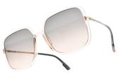 Dior 太陽眼鏡 SO STELLAIRE1 1N5FF(透粉紫-漸層紫粉鏡片) 精緻優雅熱銷方框 墨鏡 #金橘眼鏡