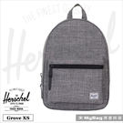 Herschel 後背包 Grove X-Small 灰色 休閒後背包 Grove XS-919 MyBag得意時袋