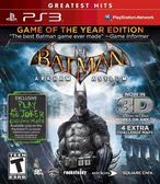 PS3  Batman Arkham Asylum Game of the Year Gr