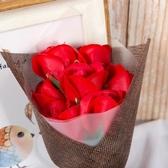 特賣母親節康乃馨香皂肥皂玫瑰花仿真假花束禮盒送媽媽生日禮物品實用伊蘿精品