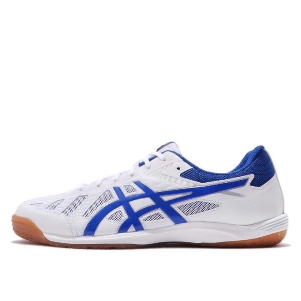 Asics 桌球鞋 Attack Hyperbeat SP 3 白 藍 膠底設計 運動鞋 男鞋 女鞋【ACS】 1073A004110