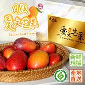 枋山Q版外銷級芒果2.5Kg/盒(11-12顆/盒) 自然熟超甜