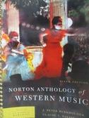【書寶二手書T8/音樂_XDW】Norton Anthology of Western Music-Classic to