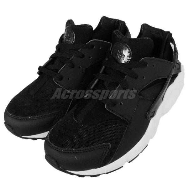 Nike Huarache Run PS 黑武士 武士鞋 低筒 黑 白 中童鞋 【PUMP306】 704949-011