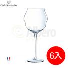法國弓箭C&S紅酒杯高腳杯新款玻璃杯香檳杯(L9412)6入組