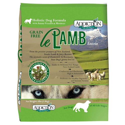 【寵物王國】ADD自然癮食-無穀野牧羊肉全犬寵食1.8kg