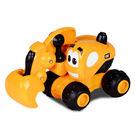 CAT 3吋可愛造型工程車-挖土機...
