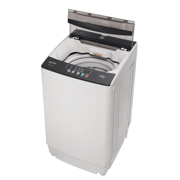 【佳麗寶】-(歌林Kolin)8KG全自動單槽洗衣機BW-8S01