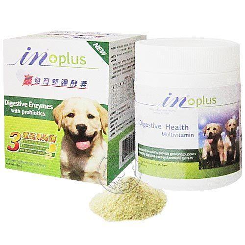 【培菓幸福寵物專營店】IN+PLUS《in贏》發育整腸酵素-280g