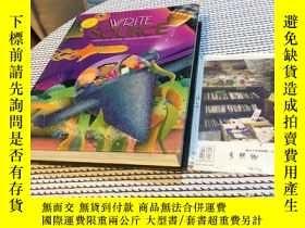 二手書博民逛書店2本合售:【紫色】WRITE罕見SOURCE : A BOOK