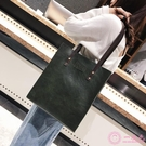 公事包 大包包2019皮包新款女包 歐美復古簡約公文包 時尚手提包單肩包潮包