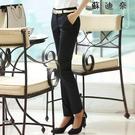 黑色女士西褲女職業工作褲子西裝褲