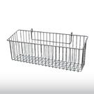 長方形掛籃(銀) 平面網 吊籃 收納置物籃 鐵網籃-運費另計