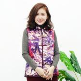 闕蘭絹 質感美人蠶絲旗袍背心-6019