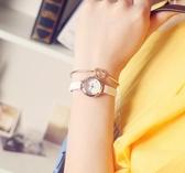 韓版復古小錶盤文藝簡約女錶細皮帶小清新百搭學生手錶潮網紅同款 - 歐美韓