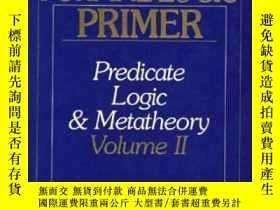 二手書博民逛書店A罕見Modern Formal Logic PrimerY256260 Paul Teller Prenti