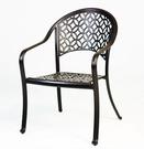【南洋風休閒傢俱】戶外餐椅系列 -戶外休閒鋁椅 庭園餐廳專用椅 A14Q00