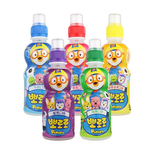 韓國 啵樂樂 乳酸飲料 235ml 牛奶/草莓/水果/藍莓/蘋果【BG Shop】5款可選