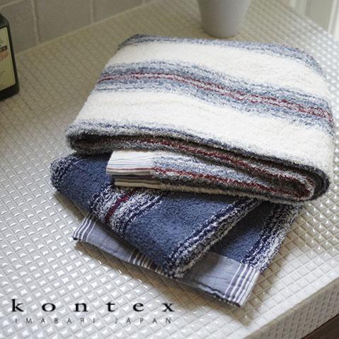 【クロワッサン科羅沙】日本今治~Kontex 40細紗海洋紋浴巾 (二色可選)