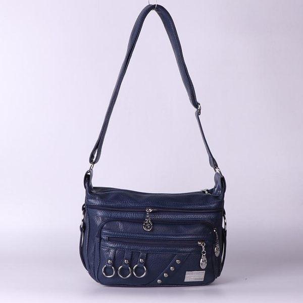 新品女包單肩斜背包媽媽包包中年 手提包 生意側背包 收錢包斜挎生意包