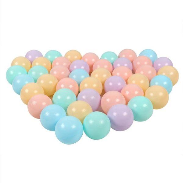 海洋球彩色球環保波波球兒童球池圍欄游戲屋1-2歲嬰兒寶寶球玩具wy【全館免運八折下殺】
