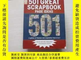 二手書博民逛書店501罕見Great Scrapbook Page Ideas