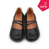 【A.MOUR 經典手工鞋】舒適休閒鞋 - 黑 / 休閒鞋 / 進口小牛皮 / 舒適鞋 / DH-7723