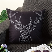 TROMSO風尚北歐抱枕-U248芬蘭時尚鹿