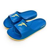 LIKA夢 GOODYEAR 固特異 防水輕量彈力休閒運動拖鞋 SURFER S系列 寶藍 83806 男