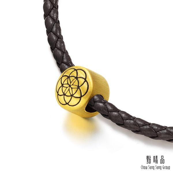 點睛品 Charme文化祝福 生命種子 黃金串珠