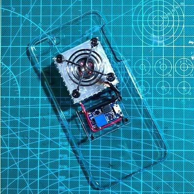 手機散熱器 手機降溫半導體制冷散熱器蘋果安卓發熱DIY手機殼非水冷吃雞神器 小宅君嚴選