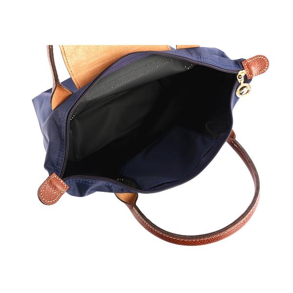 【LONGCHAMP】防水S號短把小手提水餃包(海軍藍) L1621 089 556