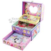〔小禮堂〕迪士尼 公主 日製珠寶首飾盒玩具《粉紫》兒童玩具.扮家家酒 4901771-30481