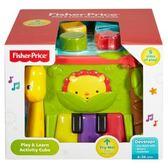 Fisher-Price費雪嬰幼兒玩具 可愛動物積木盒 TOYeGO 玩具e哥