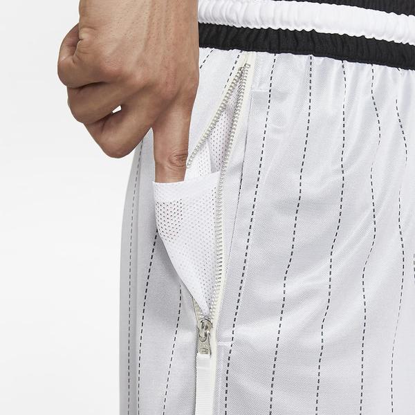 NIKE Dri-FIT DNA 男裝 短褲 籃球 針織提花 刺繡 透氣 白【運動世界】DA5710-100