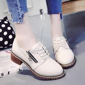 單鞋鞋子女春韓版學生原宿風ulzzang小皮鞋新款chic軟妹單鞋女鞋 喵小姐