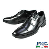 【IMAC】經典橫式紳士鞋 黑色(60051-BL)
