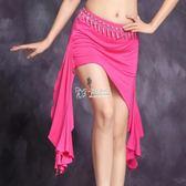 肚皮舞服裝 肚皮舞練功服裝裙子新款包臀半身短裙莫代爾棉印度練習服下裝 卡菲婭