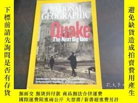 二手書博民逛書店NATIONAL罕見GEOGRAPHIC QUAKE THE N