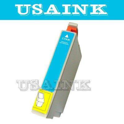 免運☆USAINK☆EPSON T0732N/73N/T1052 藍色相容墨水匣 CX5505/CX7300/CX8300/CX9300F/T20/T21/TX100/TX110/TX200/TX22..