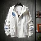 時尚男生外套 簡約男士外套 潮流外套潮牌外衣 男外套工裝機能韓版外套 秋季休閒日系夾克外套