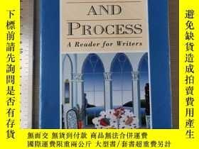 二手書博民逛書店Purpose罕見and process a reader fo