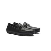 WALTZ-金屬釦飾休閒懶人鞋622164-02黑