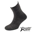PolarStar 台灣製造 羊毛保暖紳士襪『炭灰』P16618 MIT|保暖襪|羊毛襪|商務襪
