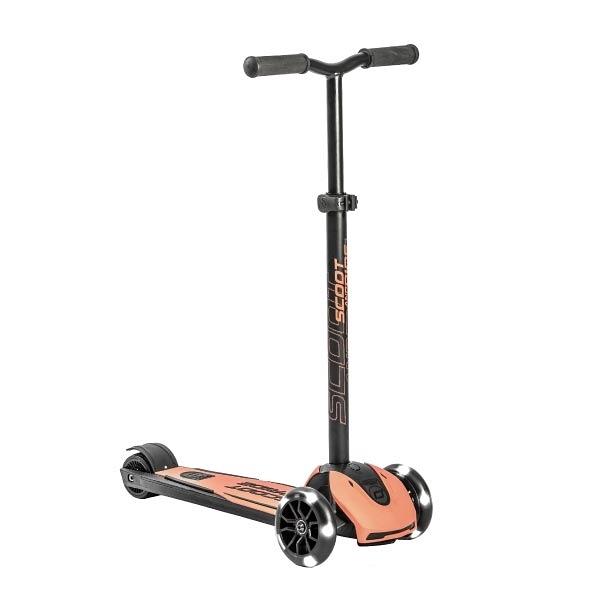 奧地利 Scoot & Ride Cool Kick5 滑板車/滑步車-蜜桃粉
