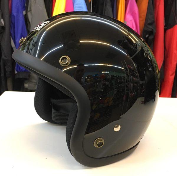 GP-5安全帽,半罩安全帽,復古帽,小帽體,D303,黑