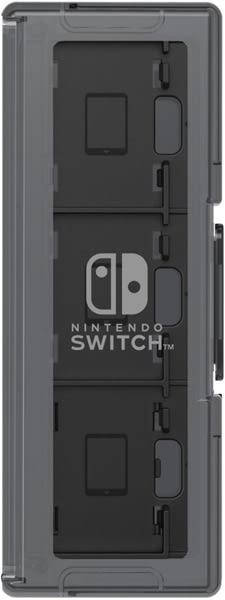 NS HORI 卡匝盒 6入+2 黑色